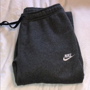 Men's Grey Nike Sweatpants